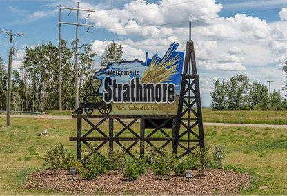Welcome to Strathmore Sign