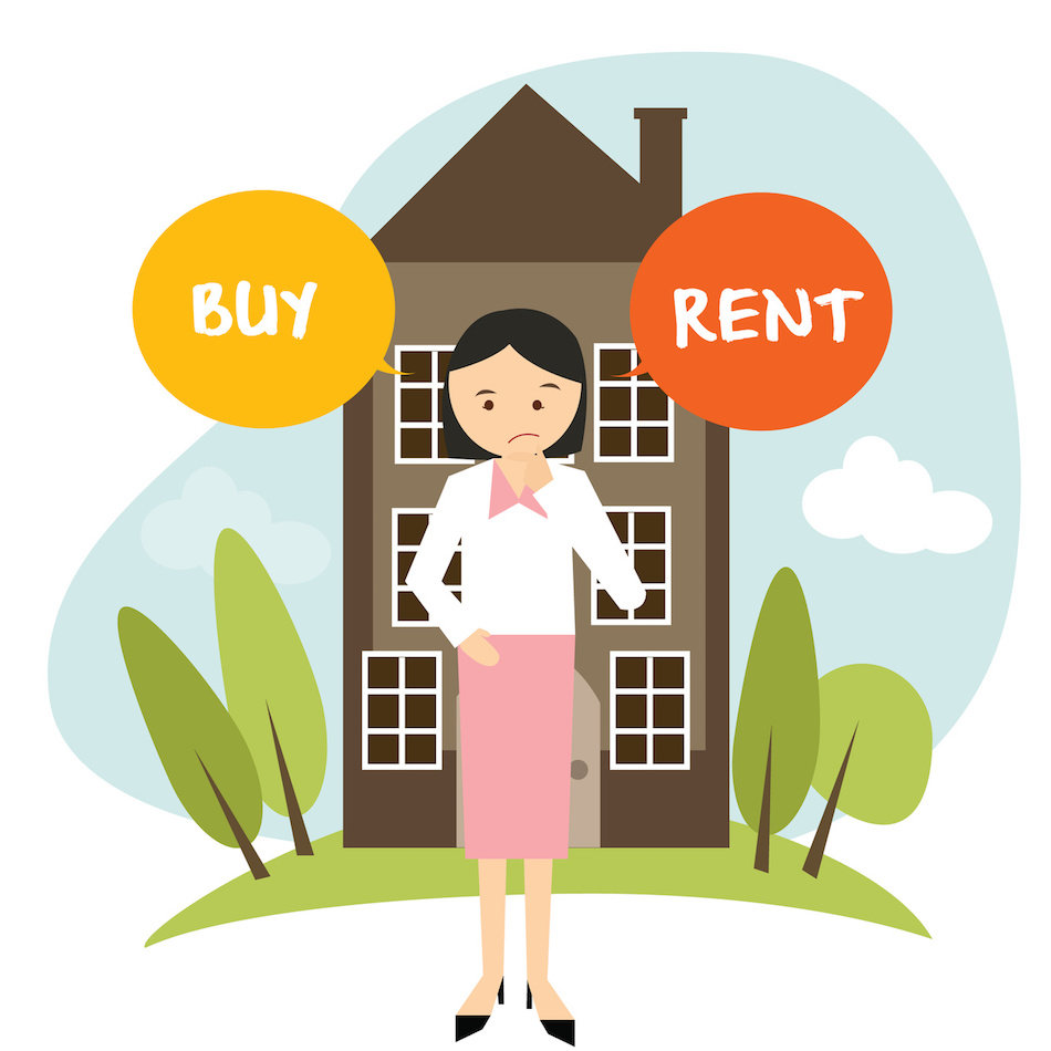 how to know whether to buy a house or rent